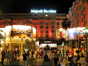 Majestic Barrière Hotel during Cannes Film Fes...