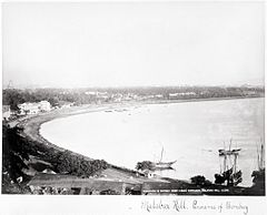 Malabar Hill - Panorama of Bombay from Ladies' Gymkhana LACMA M.90.24.2.jpg