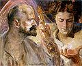 Malczewski Jacek Autoportret z muza 1.jpg