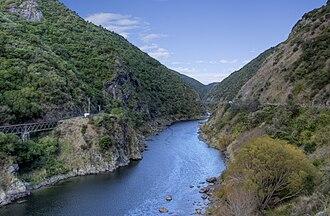 Manawatu River - The Manawatu Gorge