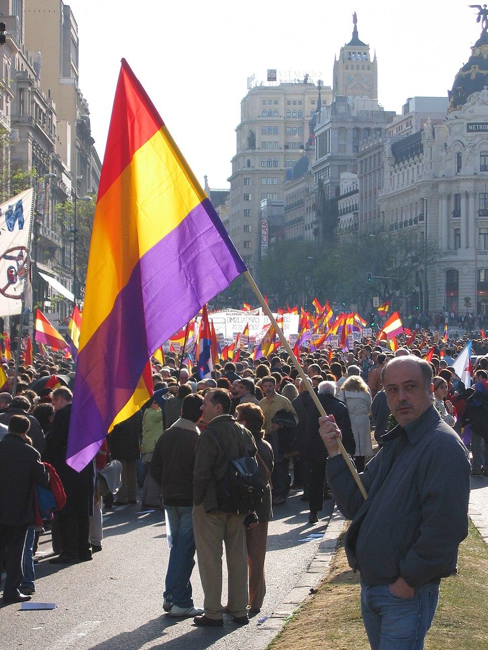 Manifestación III República