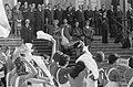 Manifestatie in verband met 12,5 jarig regeringsjubileum van H. M. . Defile trek, Bestanddeelnr 912-1910.jpg