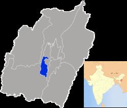 Vị trí của Huyện Bishnupur