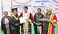 Manish Tewari conferred degrees to the students at the Annual Convocation of Govind National College, Narangwal of Distt. Ludhiana on April 06, 2013.jpg