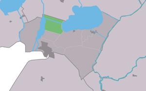 Follega - Image: Map NL Lemsterlân Follegea