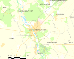 Map commune FR insee code 18207.png