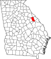 Map of Georgia highlighting McDuffie County.svg