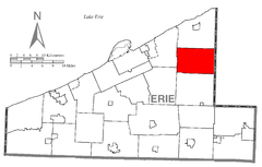 Map of Greenfield Township, Erie County, Pennsylvania Highlighted.png