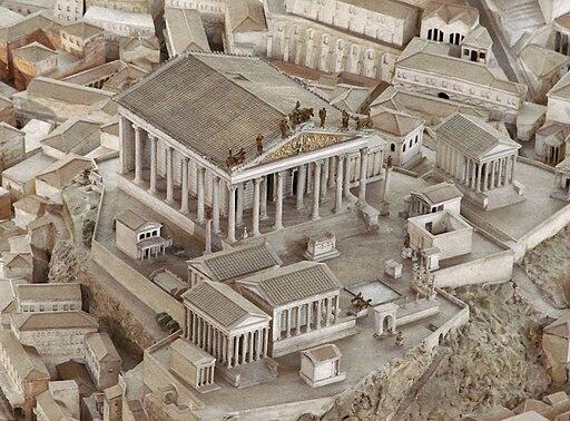 Maquette de Rome (musée de la civilisation romaine, Rome) (5911810278)
