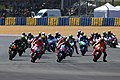 Marc Márquez leads the pack 2015 Le Mans.jpeg