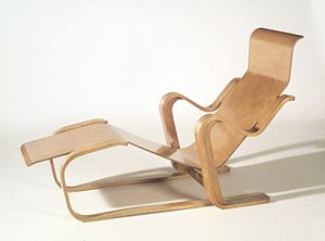 Marcel Breuer - Marcel Breuer. Long Chair, ca. 1935–36 Brooklyn Museum