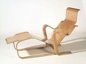 Marcel Breuer - Marcel Breuer. Long Chair, ca. 1935–36 Brooklyn Museum