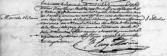 Marcelo H. del Pilar - Marcelo H. del Pilar's baptismal register
