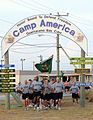 Marching at Camp America, Guantanamo.jpg