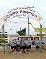 Marching at Camp America, Guantanamo.jpg