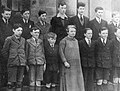 Margaret Pearse & boys of St. Enda's, ca. 1930? (35384380430).jpg