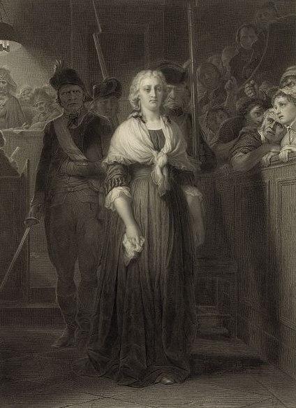 Marie-Antoinette au Tribunal r%C3%A9volutionnaire by Alphonse Fran%C3%A7ois
