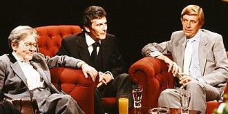 Henry Kelly - Hosting After Dark on 13 August 1988