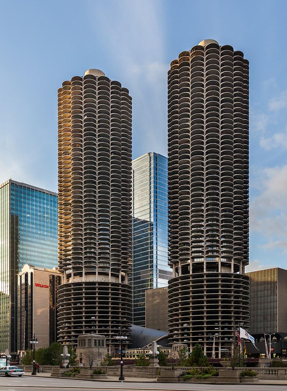 Marina City, Chicago, Illinois, Estados Unidos, 2012-10-20, DD 01