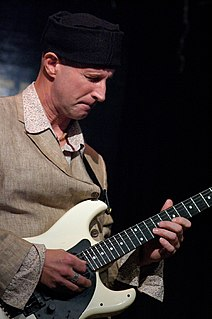 Mark Hewins British jazz guitarist