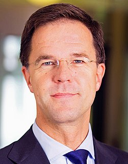 Mark Rutte Prime Minister of the Netherlands