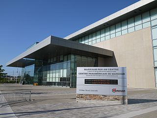 Markham Pan Am Centre community centre in Markham, Canada