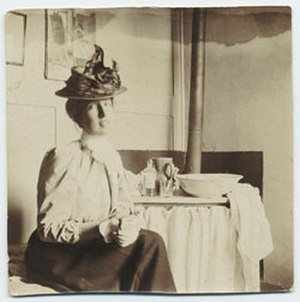 Mary Foote - Image: Mary Foote, photograph, likely before 1920s based upon clothing and age