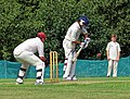 Matching Green CC v. Bishop's Stortford CC at Matching Green, Essex, England 42.jpg