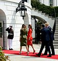 Mauricio Macri & Donald Trump at the White House 06.jpg