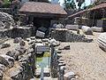 Mausoleo di alicarnasso, sistema di drenaggio 00.JPG