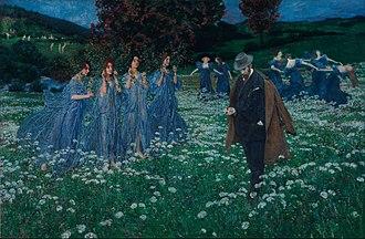 Maximilian Lenz - A World (1899).