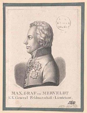 Maximilian, Count of Merveldt - Maximilian Friedrich, Count von Merveldt