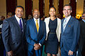 Mayor Garcetti with Phil Washington, Gene Hale, and Deborah Ale Flint (19670440444).jpg