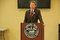 Mayor Tim Burchett Speaking at the 2012 Community Budget Hearings.JPG