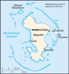 Mayotte – Mappa