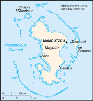 спорные территории мадагаскар-франция: