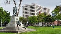 McKinley memorial, St. James Park, San Jose, California.jpg