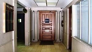 Mechanics' Bank and Trust Company Building - Entrance foyer