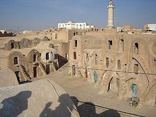 Medenine Place in Tunisia