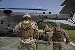 Medevac drill prepares corpsmen, Marines for mass casualty situation 140930-M-XX123-003.jpg