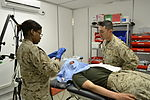 Medical clinics assist keeping members in the fight 120507-N-LS301-205.jpg