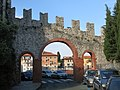 Medieval wall of castello San Giorgio in La Spezia.jpg