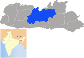 West Khasi Hills district - Image: Meghalaya West Khasi Hills