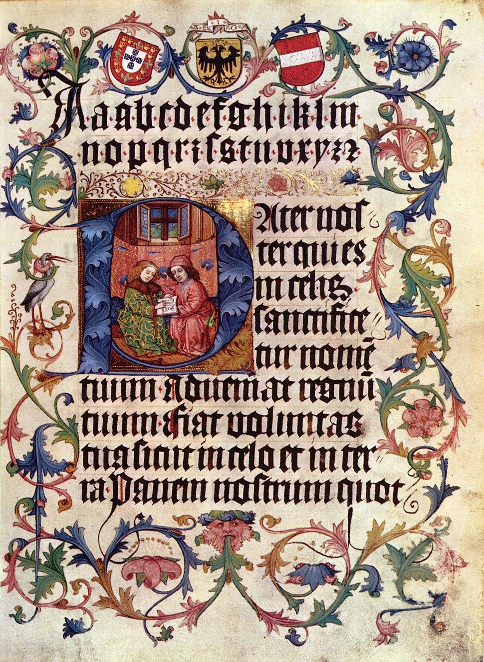 Meister des Lehrbuchs Kaiser Maximilians I. 001