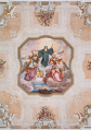 Melk Abbey St Benedicts Hall fresco Lower Austria on 2014-09-11.png
