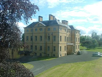Lady Mary Hamilton - Melville House, Lady Mary's birthplace