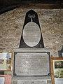 Memorial within St Bartholomew, Rogate (3) - geograph.org.uk - 1804858.jpg