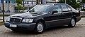 Mercedes-Benz S-Klasse (W 140, Facelift) – Frontansicht, 10. August 2013, Hilden.jpg