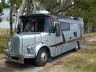 Colectivo - Classic Mercedes Benz LO 3500 colectivo turned motorhome