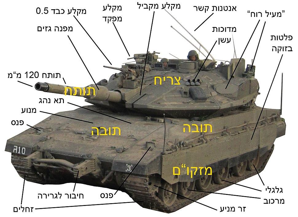 Merkava-Mk4m-tank-structure-ZE-01